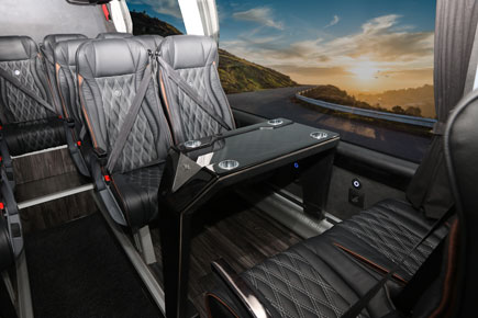 mercedes sprinter interieur table